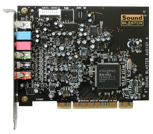 Creative Sound Blaster Audigy 4, BULK