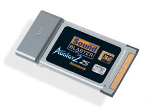 Sound Blaster Audigy 2 ZS Notebook, Bulk